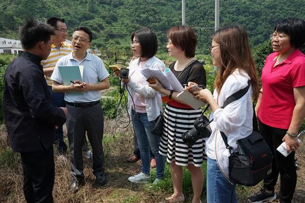 中央驻桂及自治区主流媒体采访团聚焦我市人大助推脱贫攻坚工作