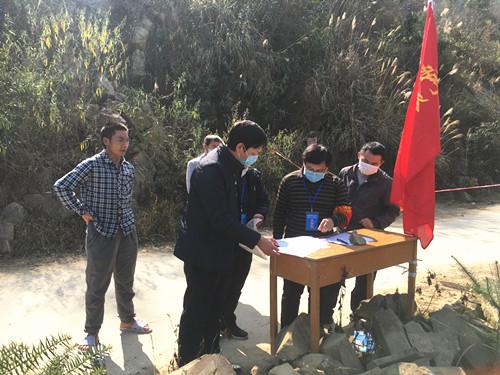 卢吉方副主任到岩茶乡指导疫情防控工作