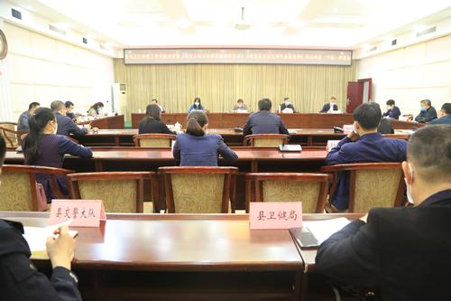 """黄志愿率队到平果县开展卫生防疫调研和""""一法一条例""""执法检查工作"""