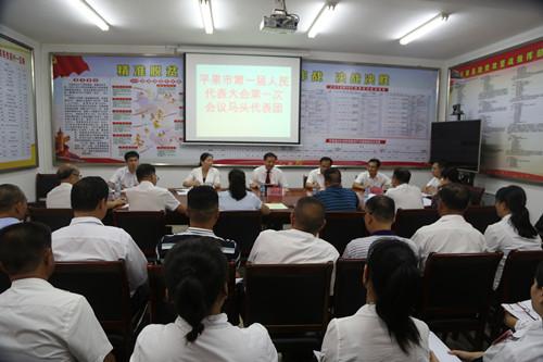 黄志愿参加代表团审议