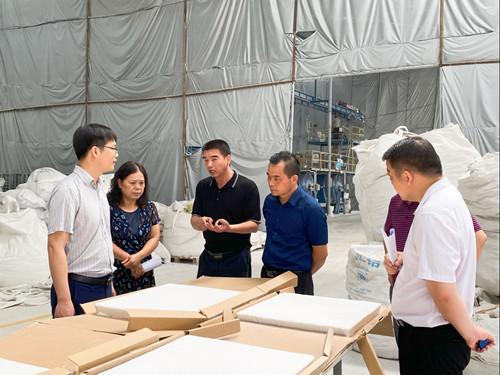 韦昌涛副主任率队开展全市深入推进铝产业二次创业工作情况专题调研