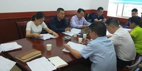 吕若冰副主任参加26米进城大道建设项目(太平洋段)征地协调推进会