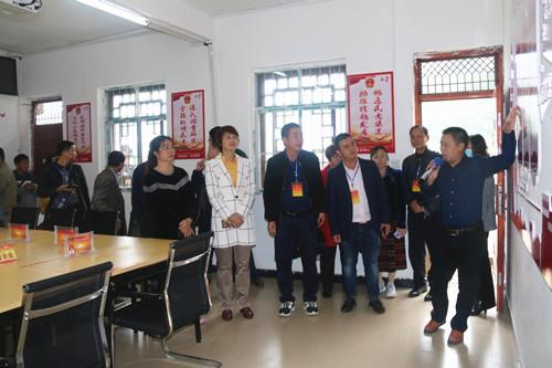 右江区人大考察组到凌云县考察学习人大代表工作