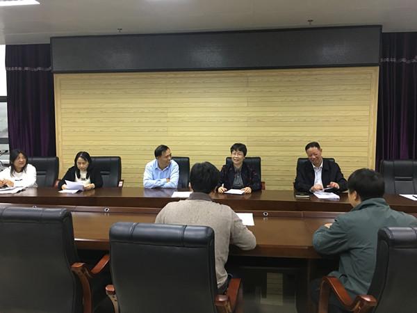 田东县人大常委会副主任覃梅华带队开展2019年度审计查出突出问题整改情况跟踪调研工作