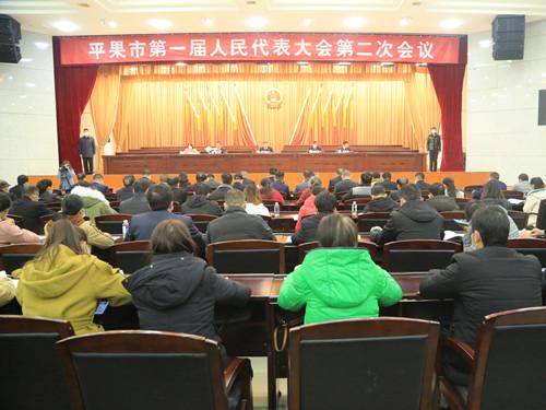 平果市第一届人民代表大会第二次会议举行预备会议