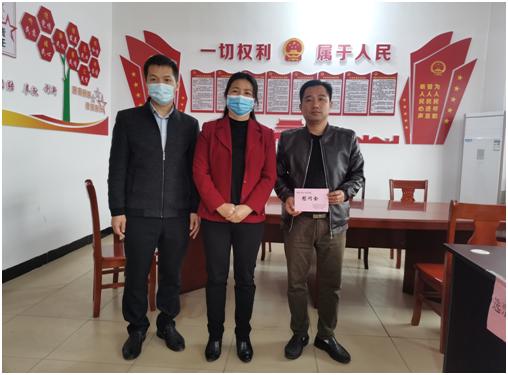 刘丽珍副主任走访慰问右江区人大代表