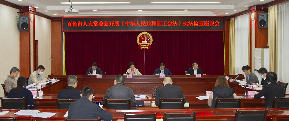 市人大常委会开展《中华人民共和国工会法》执法检查