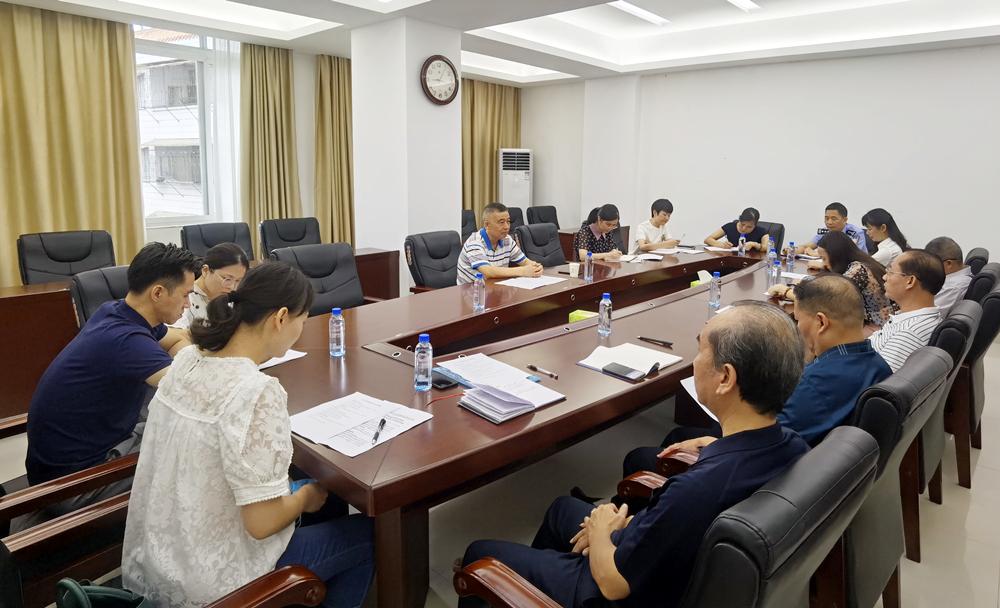 市人大常委会召开五年规划项目意见征集座谈会