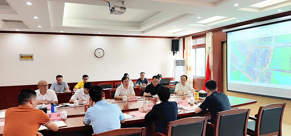 周武红率队到百东新区调研国际金融科技城项目